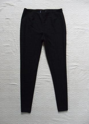 Классические черные зауженые штаны брюки со стрелками 10 размер