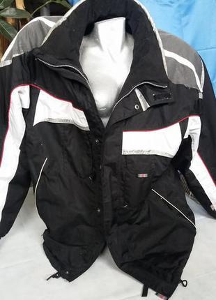 Горнолыжная куртка  с капюшоном active swissdesign раз. 46-xxl - 54