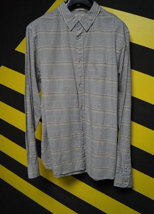 Рубашка в полоску  (slim fit)