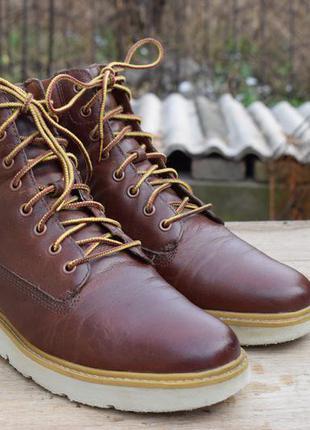 Ботинки timberland. кожа. демисезон. размер 39