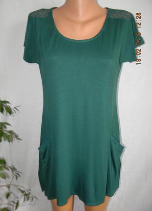 Новая натуральная блуза с кружевом