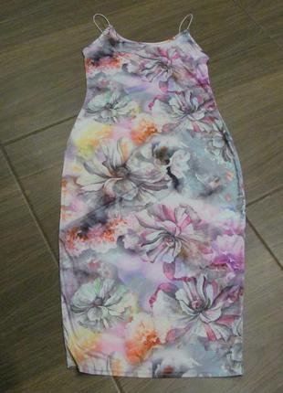 Красивый сарафан платье миди  xs-s (6)