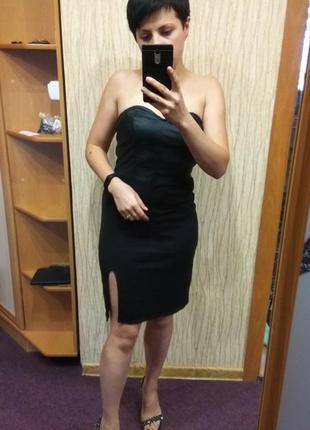 Платье коктейльное с разрезом divided