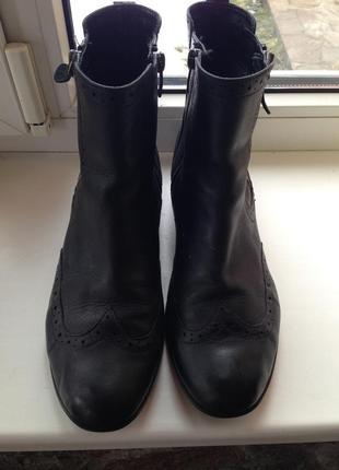 Ботинки челси, полусапожки, 100% натуральная кожа