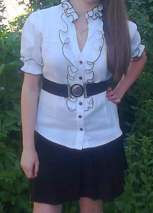 Блуза школьная elly group