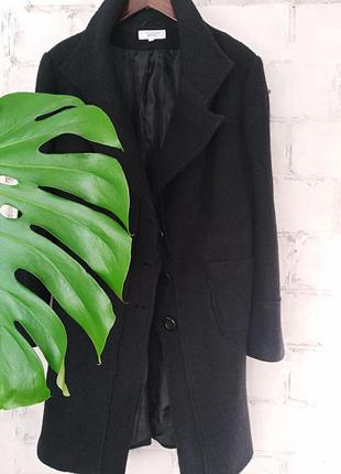 Шикарное стильное100% шерстяное пальто tailored by next (14 размер)