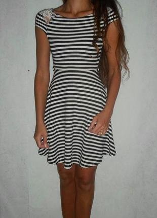 Очень стильное красивое платье