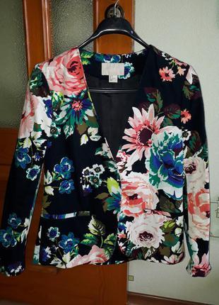 Пиджак куртка от бренда h&m