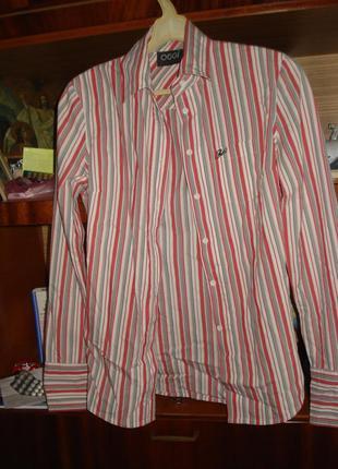Модная рубашка в полоску