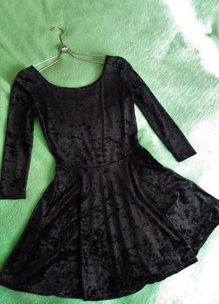 Тренд сезону велюрове плаття