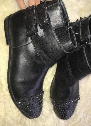 Весенние ботиночки на низком каблуке2