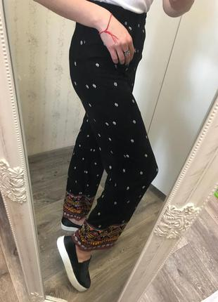 Штаны 34 xs s h&m брюки