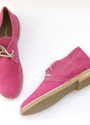Демисезонные ботинки leticia borghi замша 40р