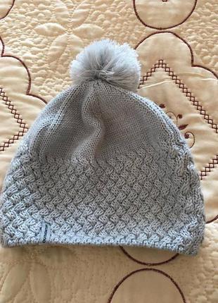 Жіноча шапочка з шерстю!