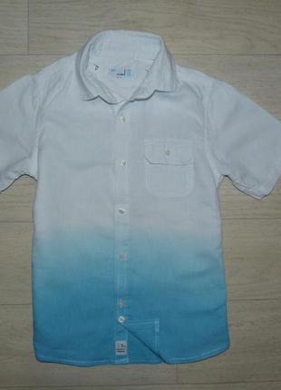 Интересная рубашка next 8 лет