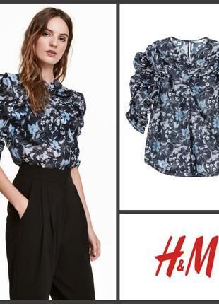 Воздушная блуза блузка от h&m