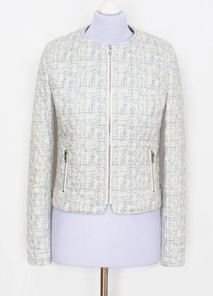 Стеганная куртка-бомбер new look на тонком синтепоне