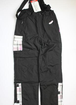 Лыжные штаны полукомбинезон для подростков nkd, германия