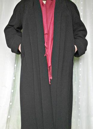 Шикарное пальто, манто, 70%шерсти, 10% кашемира