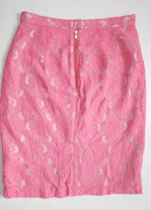Красивая кружевная юбка h&m