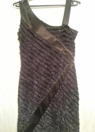 Хит сезона!нарядное платье с люрексом airport,турция,s