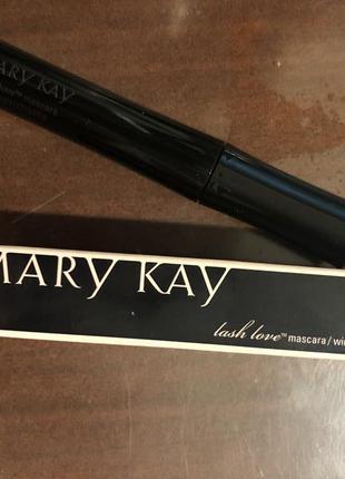 """Тушь для ресниц """"идеальный объём» lash love от mary kay"""