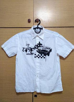 Сорочка для хлопчика фірми kappahl