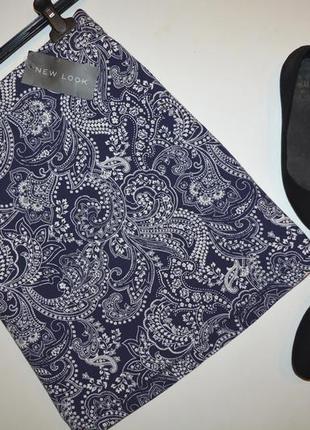 Новая юбка в узор new look