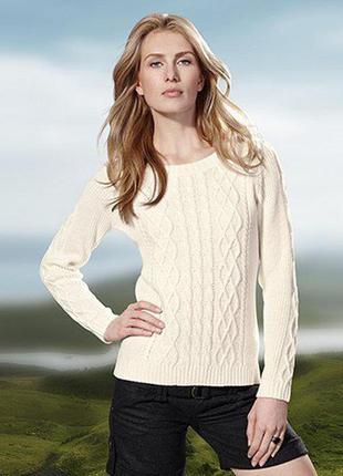 Отличный свитер теплый шерсть 10%