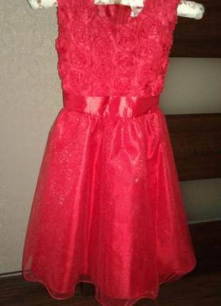 Шикарное платье для девочки