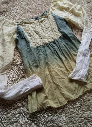 Avant-première/бесподобная блуза от швейцарского бренда премиум-класса/цветовое деграде
