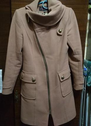 Модне кашемірове пальто