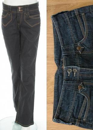 Темные расклешенные джинсы  samantha g3000, denim
