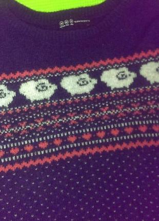 Теплый свитер atmosphere
