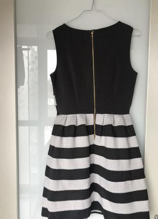 Супер платье-пачка на молнии sisley