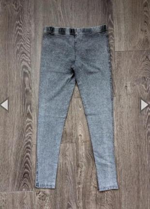 Трикотажные джинсы m/l inditex англия 🏴 оригинал