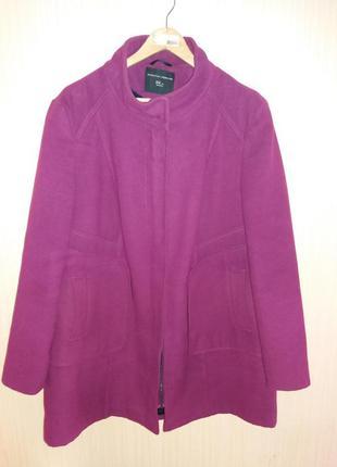 Пальто большого размера 56