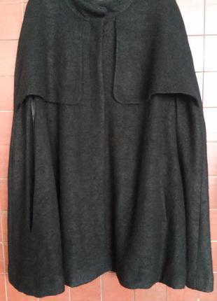 Пальто/пончо в лучших английских традициях от h&m, р. l