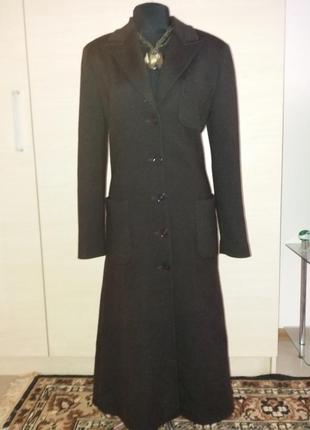 Пальто вязаное кардиган 44-46рр классика armani  италия оригинал