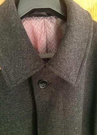 Классическое универсальное мужское пальто, 54 размер