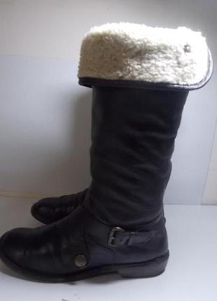 Женские сапоги 41р(ст. 26,3 см).осень-зима-весна. натур. кожа!