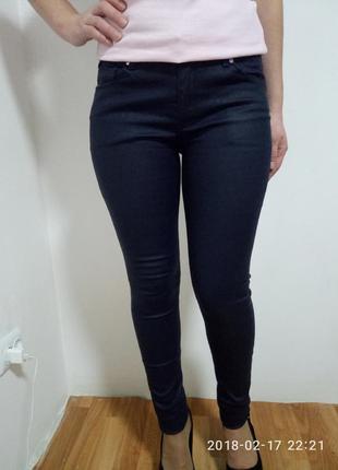 Крутые джинсы - скини с напилением раз. м