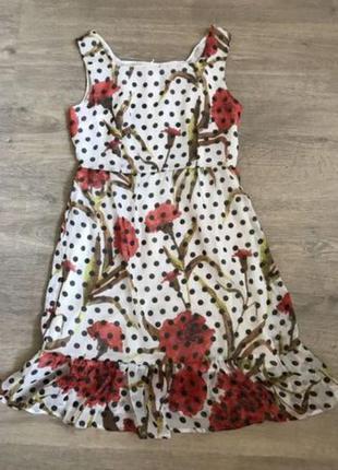 Платье в горох max mara