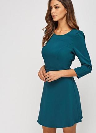 Изумрудное платье reserved
