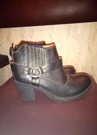 Ботинки деми кожа 41 размер