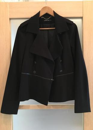 Только до 20.12! чёрный двубортный жакет пиджак (бесплатная доставка)
