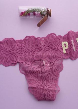 Victoria's secret pink трусики s