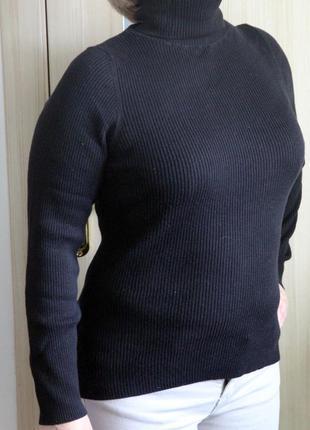 Гольф свитер в рубчик