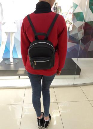 Суперский маленький женский рюкзак черный суперцена3