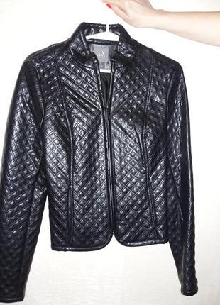 Куртка из экокожи.